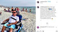 Cory Lee, Pemuda Cerebral Palsy yang Berhasil Menjelajahi 7 Benua. Foto. instagram @curbfreecorylee