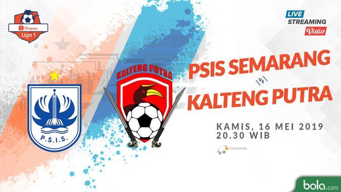 Live Streaming O Channel: PSIS vs Kalteng Putra  di Shopee Liga 1 2019 - Bola Liputan6.com