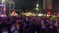 Warga memadati Jakarta Muharram Festival, Sabtu (31/8/2019). (Liputan6.com/ Ratu Annisaa)