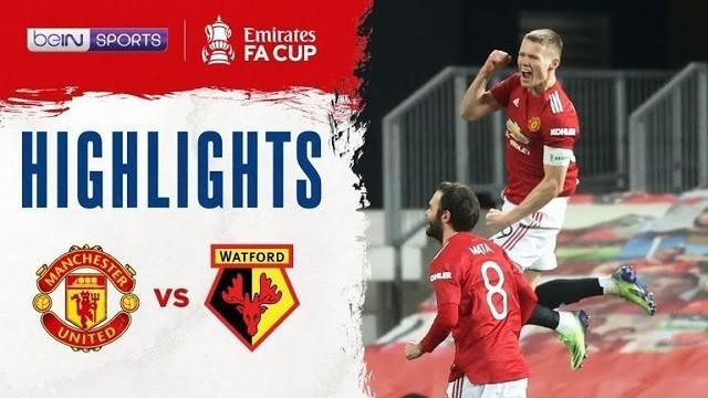 Berita Video Manchester United menang 1-0 melawan Watford