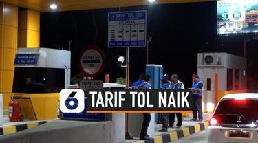 Mulai pukul 12.00 malam Sabtu 2 Nopember 2019 tarif tol rias Jakarta- Tangerang naik. Kenaikan untuk golongan I dan II sebesar Rp 500. Sementara untuk golongan IV dan V turun Rp 500 hingga Rp 5.000.