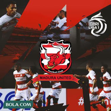 Liga 1 - Ilustrasi Logo Madura United BRI Liga 1