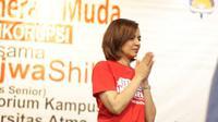 Diskusi ini bersifat ajakan pada generasi muda untuk terus menegakkan semangat anti korupsi.