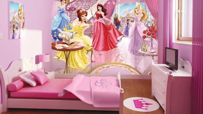 Inspirasi Kamar Tidur Bernuansa Negeri Dongeng Untuk Anak Perempuan Fashion Fimela Com