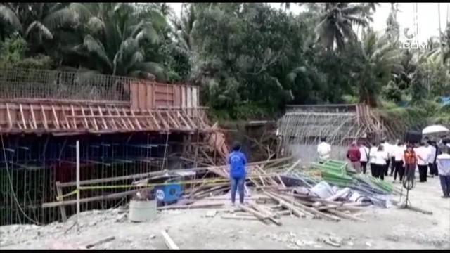 Polres Sulawesi Utara dan Puslabfor Mabes Polri mulai menyidik kasus robohnya jembatan penghubung tol Manado-Bitung. Polisi telah membentuk tim mengusut kasus ini dan memeriksa sejumlah saksi