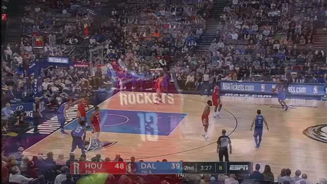 Berita video game recap NBA 2017-2018 antara Houston Rockets melawan Dallas Mavericks dengan skor 104-97.