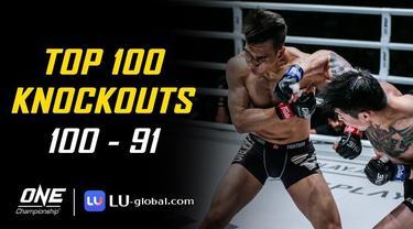 Berita Video Top 100 Knockouts Terbaik di One Championship, Salah Satunya Aksi Nguyen Tran Duy Nhat