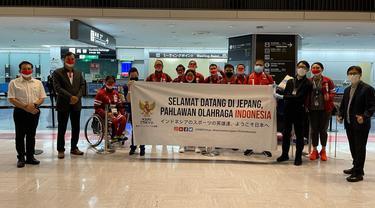 Kloter Pertama Kontingen Indonesia di Paralimpiade 2020 Tiba di Tokyo