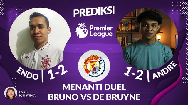 Berita video prediksi Liga Inggris, menanti duel Bruno Fernandes dan Kevin De Bruyne di Derbi Manchester