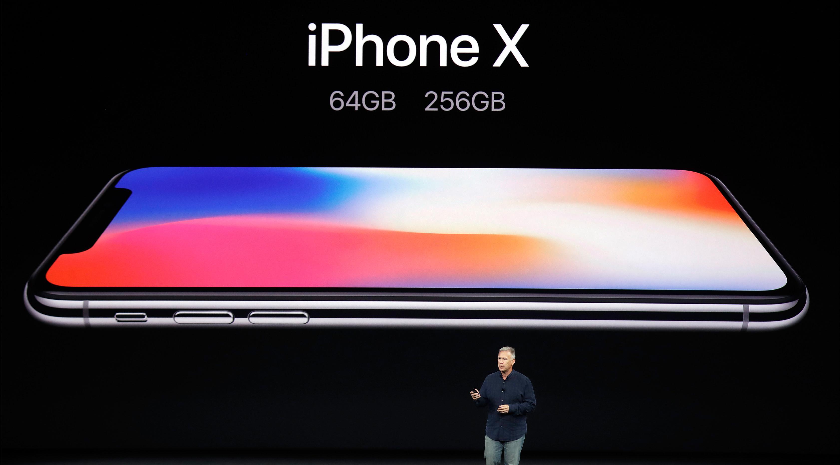 PHOTO: Harga yang Wow, Apple Kenalkan Kecanggihan iPhone X