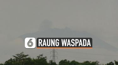 Pusat Vulkanologi Mitigas dan Bencana Geologi atau PVMBG naikan status Gunung Raung menjadi Waspada hari Kamis (21/1). Langkah ini diambil menyusul peningkatan aktivitas gunung tersebut.