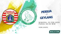 Persija Jakarta vs  Wikipedia Geylang International FC. (Bola.com/Dody Iryawan)