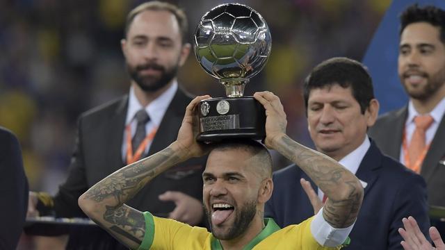 Dani Alves, Copa America 2019