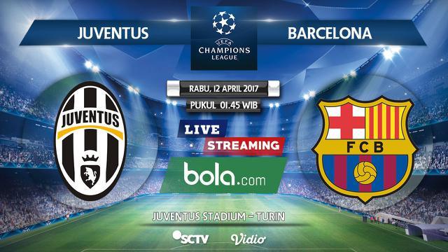 Jadwal Siaran Langsung Liga Champions Juventus Vs Barcelona Dunia Bola Com