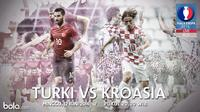 Eropa 2016 Turki Vs Kroasia (Bola.com/Adreanus Titus)