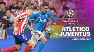 Berita video highlights matchday 1 Liga Champions 2019-2020, Atletico Madrid vs Juventus, Kamis (19/9/2019) di  Estadio Wanda Metropolitano, Madrid.