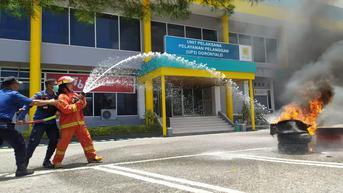 Jadi Layanan Vital, PLN Gorontalo Berupaya Cegah Kebakaran di Kantornya