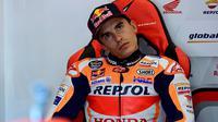 Pembalap Repsol Honda, Marc Marquez. (AFP/Javier Soriano)