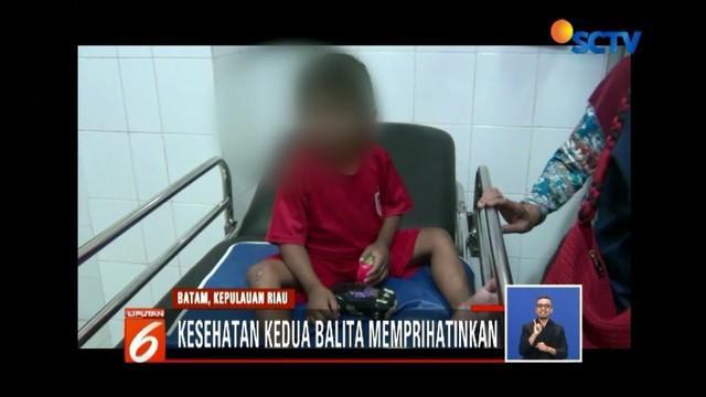 Kasus dugaan penyekapan terhadap dua balita di Batam terbongkar. Polisi menetapkan Suryanto, paman kandung dari dua bocah itu sebagai tersangka.