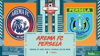 Shopee Liga 1 Arema FC Vs Persela Lamongan (Bola.com/Adreanus Titus)