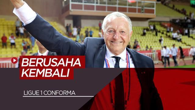 Berita Video Presiden Olympique Lyon Masih Berusaha Agar Ligue 1 Kembali Dilanjutkan
