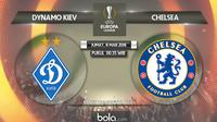 Liga Europa: Dynamo Kiev vs Chelsea. (Bola.com/Dody Iryawan)