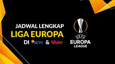 Berita motion grafis jadwal lengkap siaran langsung Liga Europa 2019-2020 di SCTV dan Video babak semifinal hingga final.