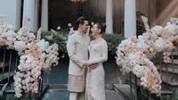 Potret pernikahan Fitria Yusuf. (Sumber: Instagram/@feisalhamka)