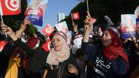 Ilustrasi Pemilu Tunisia (Fethi Belaid / AFP PHOTO)