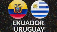 Kualifikasi Piala Dunia - Ekuador Vs Uruguay (Bola.com/Adreanus Titus)
