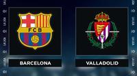 Liga Spanyol: Barcelona vs Real Valladolid. (Bola.com/Dody Iryawan)