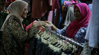 Calon Gubernur Jawa Tengah saat mengunjungi Pasar Wonogiri (Dok. Tim Ida Fauziah)