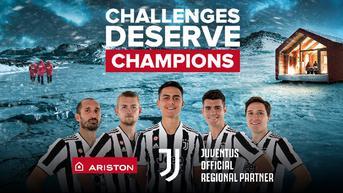 Ariston dan Juventus Satukan Langkah untuk Challenges deserve Champions
