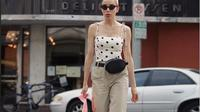 Dengan paduan yang pas, celana khaki bisa jadi alternatif fashion yang menjanjikan. (Foto: Instagram/ @missalinas)