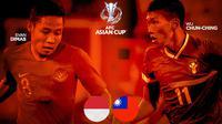 Kualifikasi Piala Asia - Duel Kapten - Indonesia Vs Chinese Taipei (Bola.com/Adreanus Titus)