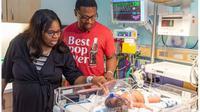 Bayi unik yang lahir pada peringatan tragedi 11 September atau 9/11. (Dokumentasi Methodist Healthcare)