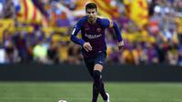 Gerard Pique tampil buruk bersama Barcelona belakangan ini (AP Photo/Manu Fernandez)