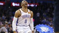 Thunder Hajar Lakers, Westbrook Masuk Buku Sejarah (AP)