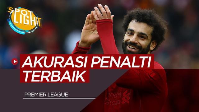 Berita Video Spotlight Mohamed Salah dan 3 Pemain Dengan Akurasi Tendangan Penalti Terbaik di Premier League 2019/2020