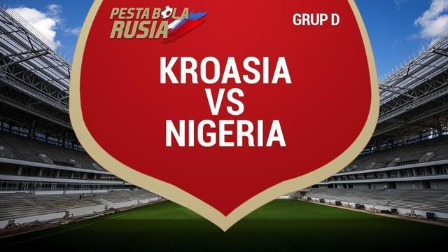Luka Modric mencetak satu gol saat Kroasia membungkam Nigeria dengan skor 2-0.