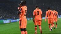 Sadio Mane mencetak hattrick pada laga melawan Porto. (doc. UEFA)
