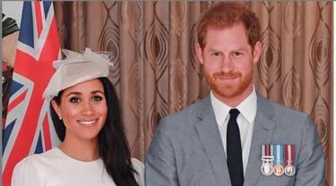 Meghan Markle bersama Pangeran Harry