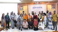 Fakultas Ilmu Sosial dan Ilmu Politik (FISIP) Universitas Airlangga menyelenggarakan African Day. (Foto: Liputan6.com/Dian Kurniawan)
