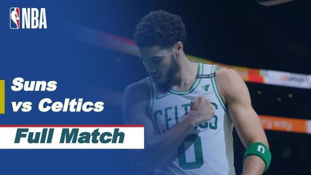Pertandingan NBA Regular Season 2020/21, antara Phoenix Suns vs Boston Celtics yang berlangsung pada hari Senin dini hari (08/2/2021) di Phoenix Suns Arena.