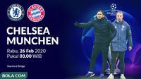 Liga Champions - Chelsea Vs Bayern Munchen (Bola.com/Adreanus Titus)