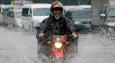 Akibat Badai Tropis, Manila Digenangi Banjir