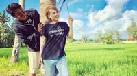 Evelyn Nada Anjani bersama Aliff Alli [foto: instagram]