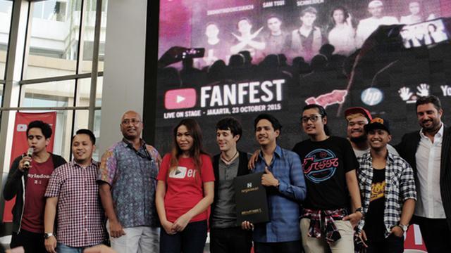 Youtube Fanfest Indonesia Pertama Digelar 23 Oktober 2015 Tekno