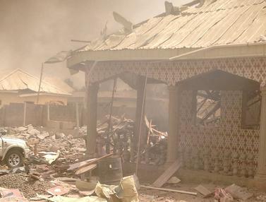 20160225-Kantor Polisi di Nigeria Meledak Tanpa Sebab