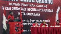Sekjen PDIP Hasto Kristiyanto. (Liputan6.com/Taufiqurrahman)